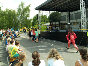 """Haben dieses Jahr eine gute Platzierung beim Rope Jump Wettbewerb der Schulen erzielt, die """"Großen"""" der GS am Amalienhof"""