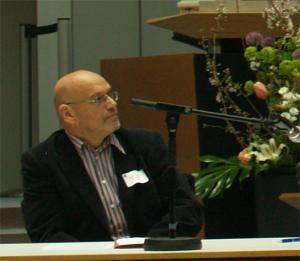 Michael Ozdoba beim Quartiersrätekongress 2014