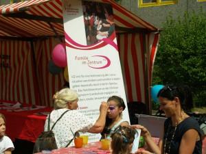 Am FiZ-Stand beim Stadtteilfest 2014