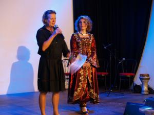 Auch diesmal von beiden ein ehrenamtliches Engagement: Petra Sperling und Asmahan Er