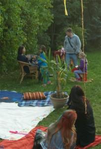 Ruhezonen im Garten und