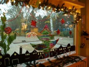 Zauberhafter Fensterschmuck zum Advent