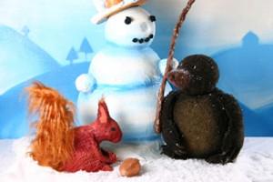 Maulwurf Buddel Abenteuer im Schnee 001
