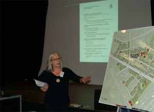 Cornelia Dittmar vom QM-Team: Infos zum Quartier, Quartiersverfahren und den Gremien