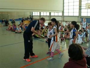 Siegerehrung für die Wissell-Grundschule