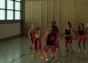 """Spass am Spiel, wie hier bei dem Match der zwei Mädchenteams der """"Morgenstern"""""""