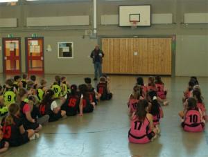 Turniereröffnung durch den Schulleiter Michael Ozdoba