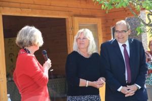 Eröffnungsworte: Frau Henkys, Frau Walter und Stadtrat Hanke