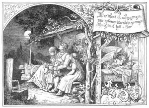Ludwig_Richter_Der_Mond_ist_aufgegangen( Wikimedia Commons)
