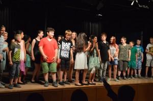 ... für alle Akteure der Klasse 5a auf der Bühne