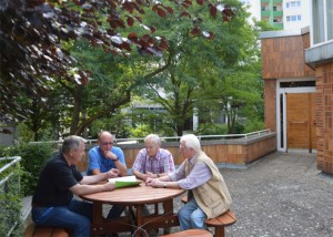 Jetzt sogar mit Open-Air-Treff auf der Terrasse!