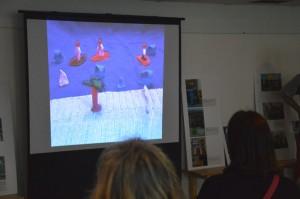 Mit Knete, Legos und mit Zeichenstift - Kurzfilme von Nessi, Zaubertüren, Chaos und, wie hier, vom Hai-Alarm