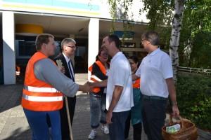 """Dank an die Initiatoren von Bürgermeister und """"Berlin machen"""""""