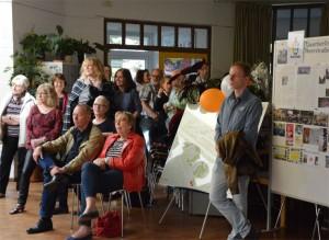 ... und für die Gäste, im Vordergrund sitzend, Herr Scherer vom Jugendamt Spandau und Burgunde Grosse (SPD Abgeordnetenhaus)