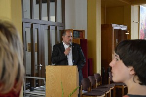 Würdigung der Arbeit und Zusagen für Unterstützung von Frank Bewig Stadtrat für Soziales und Gesundheit