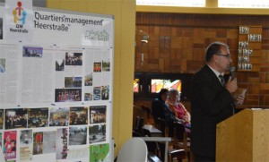 wie auch von Gerhard Hanke, Bezirksstadtrat Jugend, Bildung, Kultur, Sport