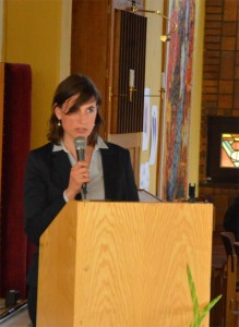 ... oder von Anne Jeglinski, der Leiterin der Geschäftstelle Stadtteilzentren, Bezirke, Verband der Paritätische