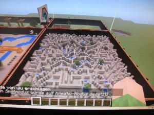 Spiele- und Kreativmodus bei Minecraft