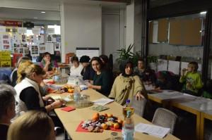 Im Stadtteilladen: Jury mit Kinderbetreuung