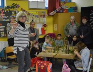 Dickes Lob von der Schulleiterin Simone Kraft für die Ausarbeitungen und Präsentationen der Kinder