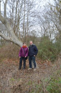 Am_Spieroweg_Sabine & Michael Kinder von Naturspielraum