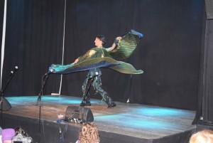 ... und mit exotischen Tänzen begeistern konnte