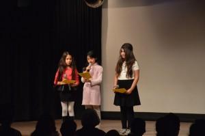 Und durch das nachmittagfüllende Programm führten die drei Moderatorinnen