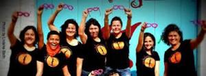 Frauentheatergruppe Madalena_rosarote brille
