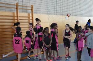 Beide CMG-Mädchenteams auf einen Blick
