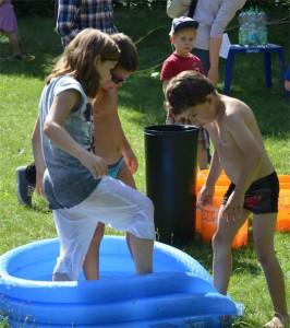 Sommeraktionen wie das Wasserfest 2015