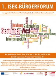 ISEK Forum 1_Plakat