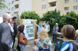 Von ungenutzten Rasenflächen zum Gemeinschaftsgarten