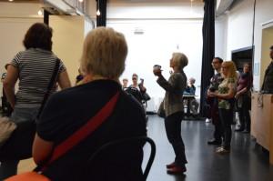 hat sich auch, wie Brigitte Steiner erläutert, bemüht sich auch der Freundeskreis des Kulturzentrums um die künftige Trägerschaft