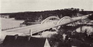 Die Freybrücke, ca 1910, kurz nach der Fertigstellung
