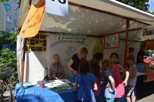 Nicht nur was für Kinder gab es mit Infos über Willkommensklassen bei der Gs am Amalienhof