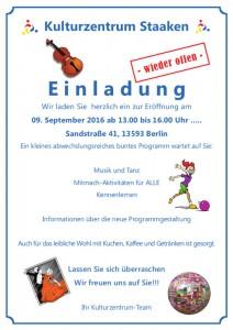 Einladung:09-09.16_ Kulturzentrum A5