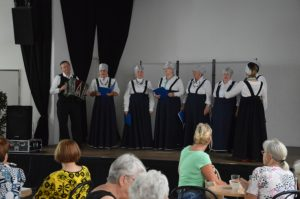 "Vom Kooperationspartner BGFF e.V., der Folklore-Chor ""Taljanotschka"""