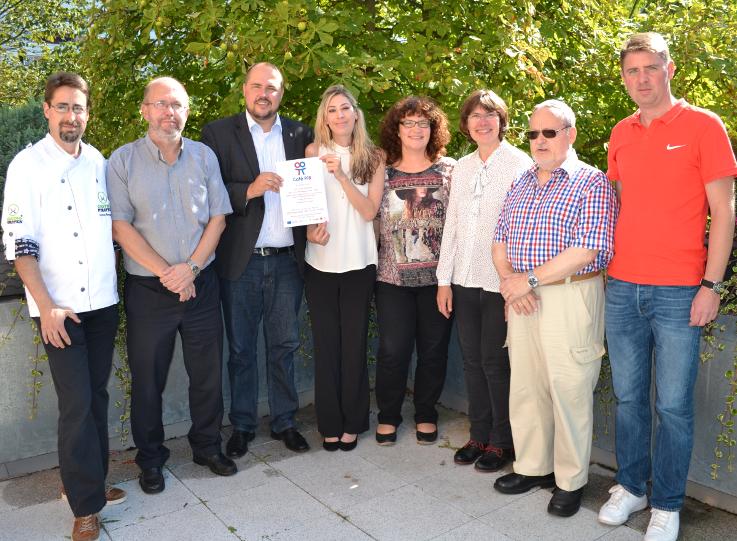 Bezirk und Stadtrat Beweig unterstützen das Projekt von Ev. Kirche, Familientreff und Café Pi8