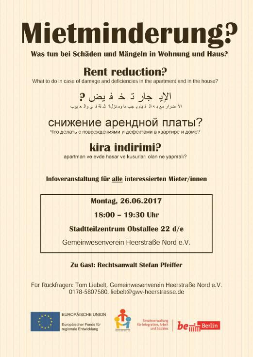 Thema Mängel & Mietminderung « staaken.info